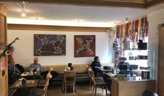 Mostra al Embassy Café di Cortina d'Ampezzo 3 novembre – 15 aprile 2018