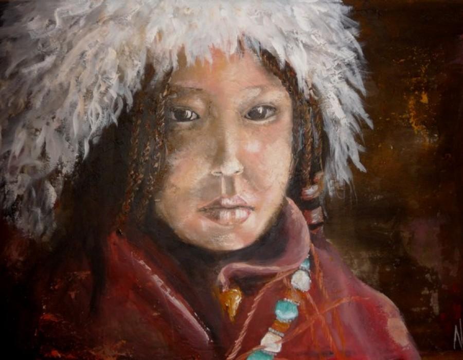Tibetan girl