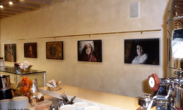 "Mostra d'Arte  di Natascia Artico a Portogruaro presso ""Ai Portici"""